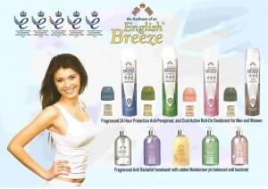 Desodorante hombre y mujer y gel de manos anti bacterias