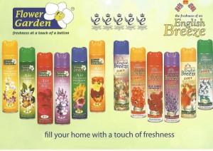 Ambientador flower Garden