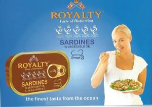 Sardinas en aceite vegetal