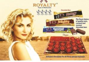 Chocolatinas Royalty