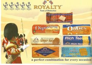 Galletas Royalty